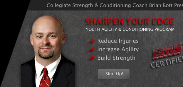 Sharpen Your Edge, Youth Agility & Conditioning Program, Reduce Injuries, Increase Agility, Build Strength